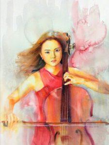 Thiếu nữ và đàn cello