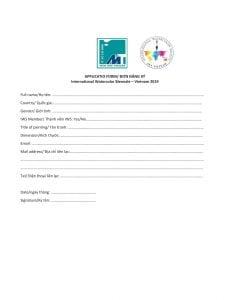 Thông báo nộp hồ sơ tham gia Triển lãm Quốc Tế tranh màu nước-3